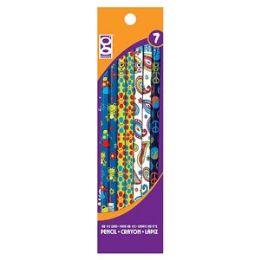 48 Units of 7 Ct. Retro Pencils - Pencils