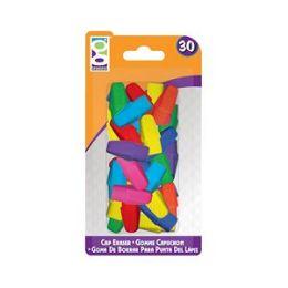 48 Units of 30 Ct. Cap Erasers - Erasers