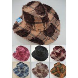 24 Units of Fringe Cowboy Hat - Cowboy & Boonie Hat