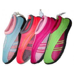 36 Units of Lady Aquasocks Size 5-10 - Women's Aqua Socks