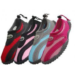 36 Units of Lady's Wave Aquasocks Size 6-11 - Women's Aqua Socks