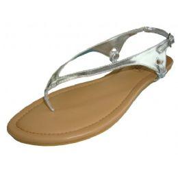 18 Units of Ladies Thong Flat Sandal - Women's Sandals