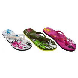 36 Units of Ladies Floral Sandal - Women's Sandals