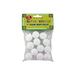 72 Units of Foam Craft Balls - Craft Tools