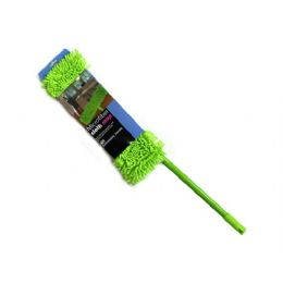 6 Units of Microfiber Cloth Mop, Assorted Colors - Cleaning Products