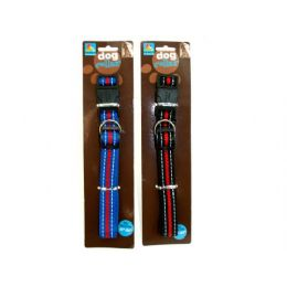 "72 Units of Dog collar, fits 18-24"" neck, assorted colors - Pet Collars and Leashes"