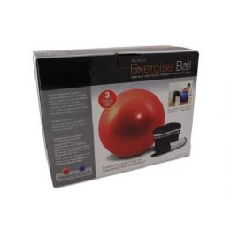 6 Units of Exercise ball with pump - Workout Gear