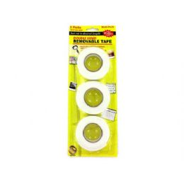 72 Units of 3 Pack double-sided tape - Tape