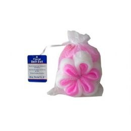 72 Units of FloraL-Shaped Bath Scrubber - Cleaning Products
