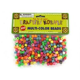 72 Units of Multi-color crafting pony beads - Craft Beads