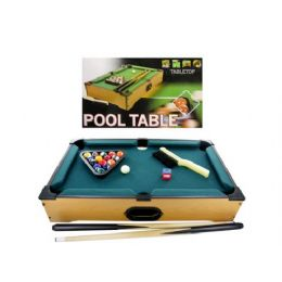 3 Units of Tabletop pool table, 22 pieces - Sports Toys