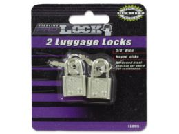 72 Units of Luggage Locks With Keys - Padlocks and Combination Locks