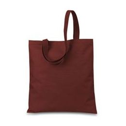 48 Units of Small Tote - Maroon - Tote Bags & Slings