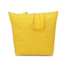 48 Units of Large Tote - Bright Yellow - Tote Bags & Slings