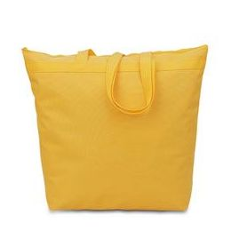48 Units of  Large Tote - Golden Yellow - Tote Bags & Slings