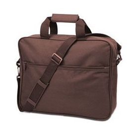 24 Units of Convention Briefcase - Brown - Lunch Bags & Accessories