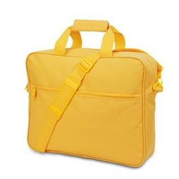24 Units of Convention Briefcase - Golden Yellow - Lunch Bags & Accessories