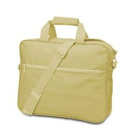 24 Units of Convention Briefcase - Light Tan - Lunch Bags & Accessories