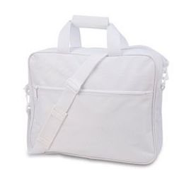 24 Units of Convention Briefcase - White - Lunch Bags & Accessories