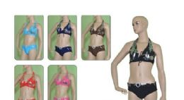 36 Units of 2 PIECE SWIMSUIT ON HANGER - Womens Swimwear