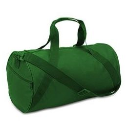 24 Units of Barrel Duffel - Kelly - Duffel Bags