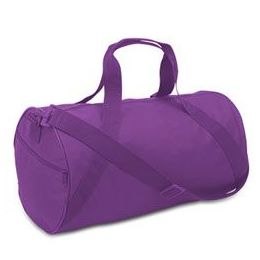 24 Units of Barrel Duffel - Purple - Duffel Bags