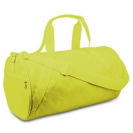 24 Units of Barrel Duffel - Safety Green - Duffel Bags