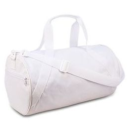 24 Units of Barrel Duffel - White - Duffel Bags