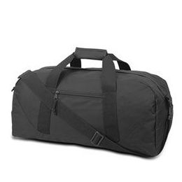 12 Units of Large Square Duffel - Black - Duffel Bags
