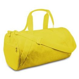 12 Units of Large Square Duffel - Bright Yellow - Duffel Bags