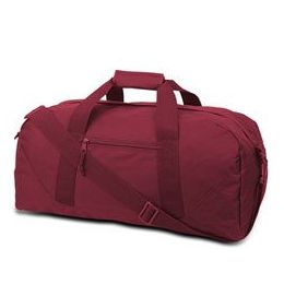 12 Units of Large Square Duffel - Cardinal - Duffel Bags