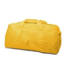 12 Units of Large Square Duffel - Golden Yellow - Duffel Bags