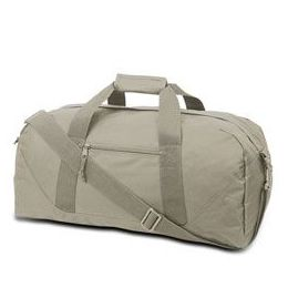 12 Units of Large Square Duffel - Grey - Duffel Bags