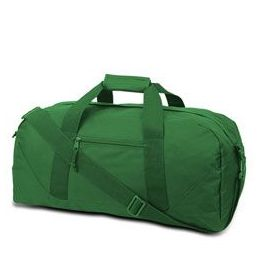 12 Units of Large Square Duffel - Kelly - Duffel Bags
