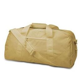 12 Units of  Large Square Duffel - Khaki - Duffel Bags