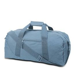 12 Units of Large Square Duffel - Light Blue - Duffel Bags