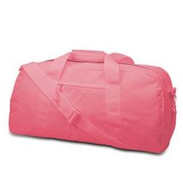 12 Units of Large Square Duffel - Light Pink - Duffel Bags