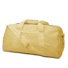 12 Units of  Large Square Duffel - Light Tan - Duffel Bags
