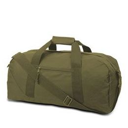 12 Units of Large Square Duffel - Olive - Duffel Bags