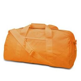 12 Units of Large Square Duffel - Orange - Duffel Bags