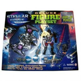 24 Units of Action Toy Playset That Lights Up (tst) - Toy Sets