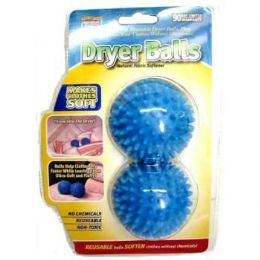 72 Units of As Seen On Tv Dryer Balls - Laundry  Supplies