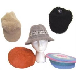 72 Units of Assorted ladies Winter Hats - Fashion Winter Hats
