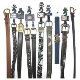 144 Units of Childrens Branded Belts - Kid Belts