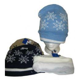 96 Units of Fleece Lined Acrylic Winter Hat - Winter Beanie Hats