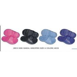 48 Units of Girls And Boys Sandal - Girls Flip Flops