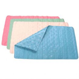 48 Units of  Safety Bath Mat 27.5IN * 15.75IN (24/cs) - Bath Mats