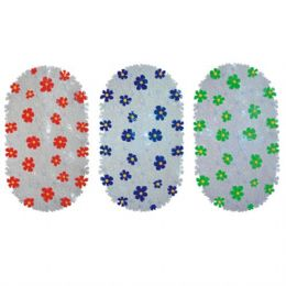36 Units of Bath Mat Flowers 15in by 26in - Bath Mats
