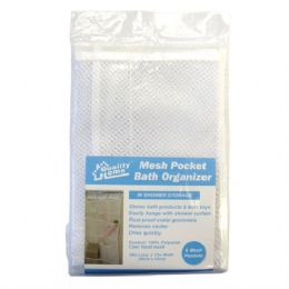 48 Units of Mesh Pocket Bath Organizer - Bathroom Accessories