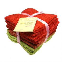 48 Units of Wash Cloth 12x12 12PK - Bath Towels